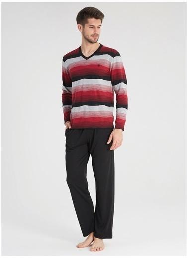 Blackspade Pijama Takım Bordo